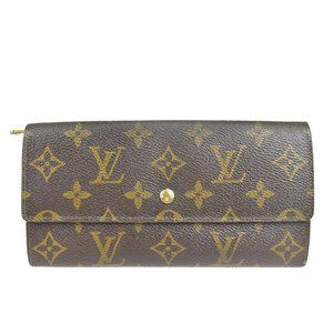 Louis Vuitton Monogram Credit M61724 Leather Long